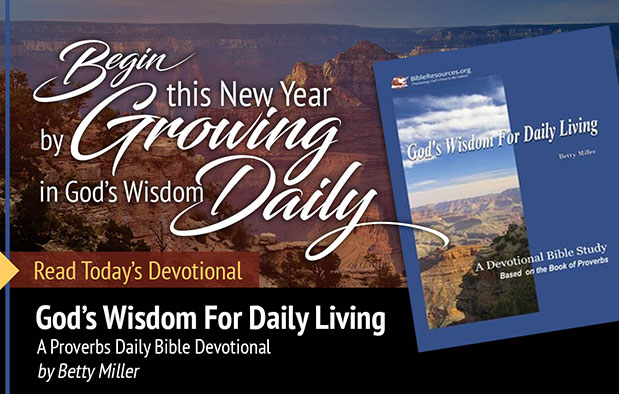 New Years Daily Bible Devotional Image