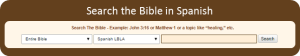 Search the Spanish Bible